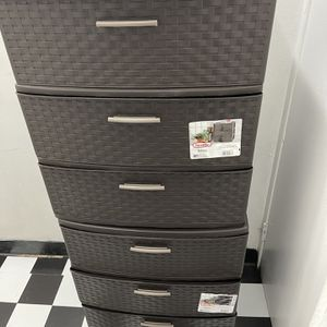 3 DRAWER PLASTIC WIDE STORAGE ORGANIZER for Sale in Brooklyn, NY