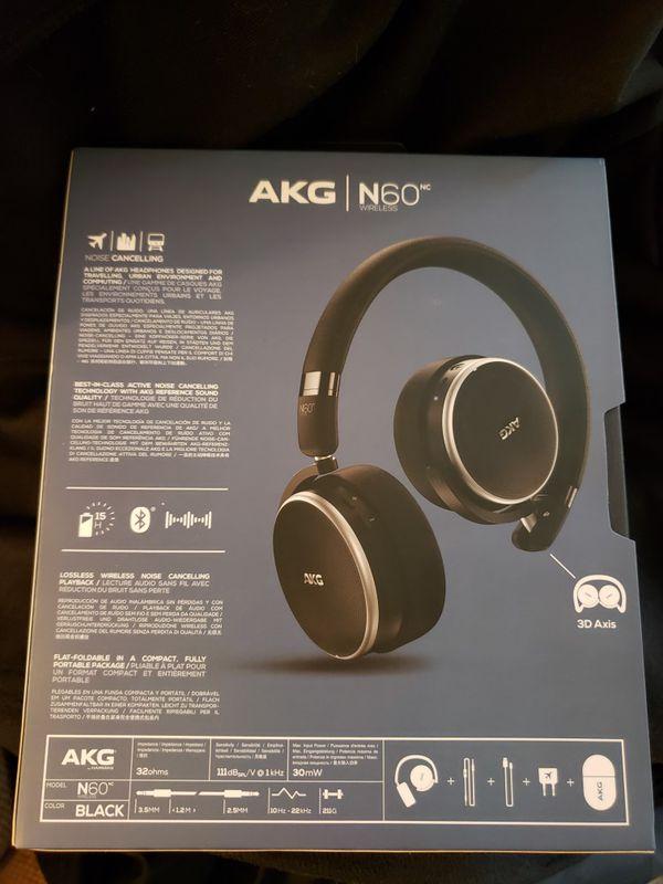 AKG N60 Wireless Noise Cancel Headphones