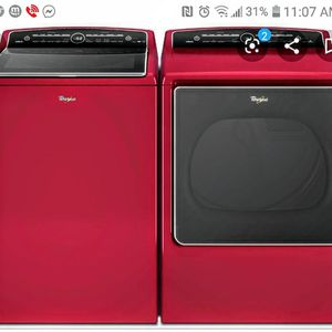 A Whirlpool washer and dryer top-load for Sale in White Hall, AR