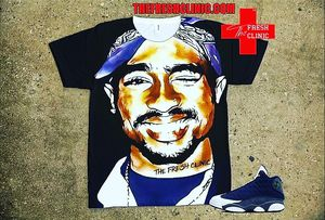 2Pac Jordan 13 Flint tee shirt for Sale in Nashville, TN