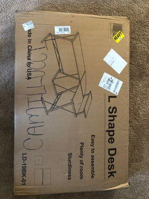L Shaped Desk Gome for Sale in Statesboro, GA