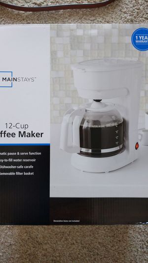 Brand new 12 cup coffee maker for Sale in Long Beach, CA