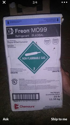 NEW MO99 FREON-R-22 for Sale in Tampa, FL