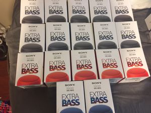 Sony extra bass portable speakers for Sale in Shallotte, NC