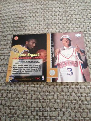 KOBE BRYANT AND ALLEN IVERSON TRADING CARDS for Sale in Golden, CO