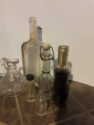 Antiques glass bottles for Sale in Greer, SC