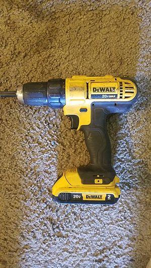 Dewalt 20v drill for Sale in Puyallup, WA