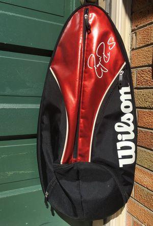 Roger Federer Wilson sling racquet racket bag for Sale in Potomac, MD