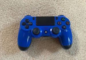 Daulshock Sony PS4 Wireless Controller Blue Works Great for Sale in Los Angeles, CA