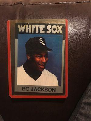 Bo Jackson baseball card. for Sale in Phoenix, AZ