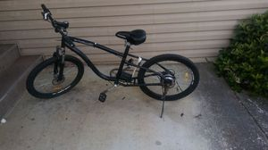Beach cruiser electric bicycle frame, with a rear hub brushless motor, for Sale in Livermore, CA