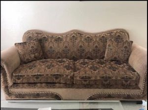 Sofas with glass tables. for Sale in Modesto, CA