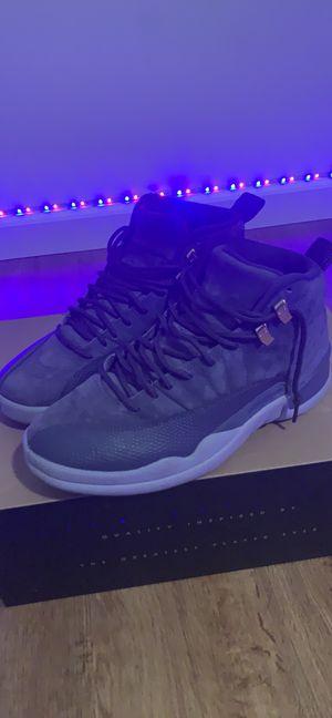 Jordan 12 retros grey for Sale in Pittsville, MD