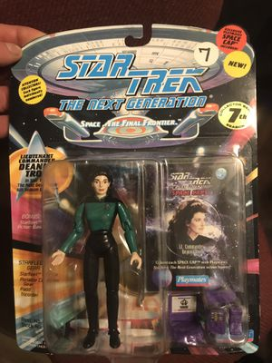 Lieutenant commander Deanna trol action figure for Sale in Payson, AZ