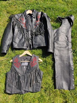 Women's leather motorcycle gear for Sale in Portland, OR