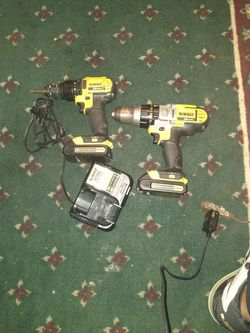 DeWalt hammer drill and drill for Sale in San Angelo,  TX