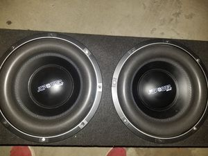 Two 12 inch subwoofers (NEW) for Sale in Turlock, CA