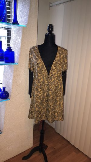 FRINGE DRESS SHIRT paisley print for Sale in Sarasota, FL