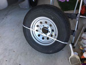 Trailer spare tire/rim 225/75R15. NEW for Sale in Poway, CA