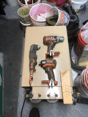 Ridged impact, hammer drill, multi tool for Sale in Las Vegas, NV
