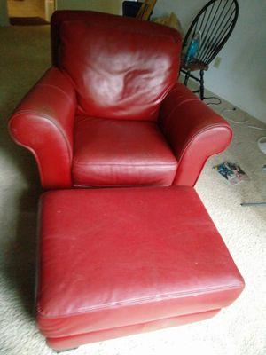 Leather sofa set and Futon frame for Sale in Atlanta, GA