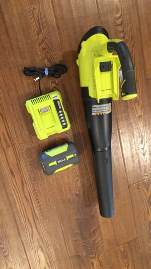 Ryobi ryzen 4042A 40V Lithium-ion cordless Jet Fan leaf blower for Sale in ROWLAND HGHTS, CA
