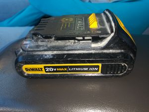 DeWalt 20-volt Max lithium- ion battery for Sale in Boston, MA