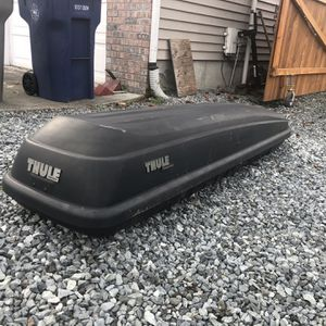 Thule Roof Box for Sale in Bonney Lake, WA
