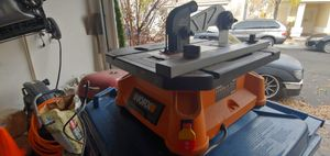WORX table saw for Sale in Las Vegas, NV
