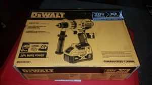 20V XR Pow Hamm Drill with 8Ah Battery & fast charger firm price/precio es firme no asepto ofertas for Sale in Escondido, CA