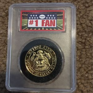 Denver Broncos JFK half dollar coin for Sale in Rio Rancho, NM