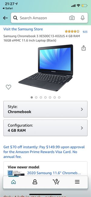 Samsung Chromebook 3 for Sale in Fullerton, CA
