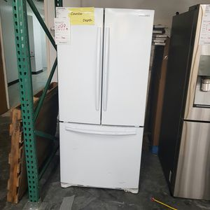 Samsung French Door White Refrigerator for Sale in La Puente, CA