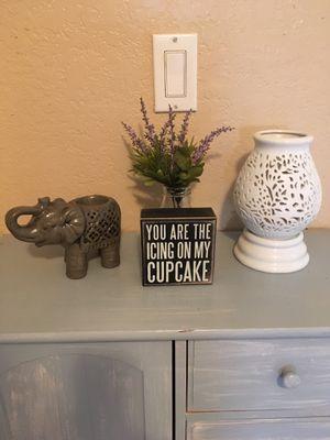 Deco Elephant Set for Sale in Sacramento, CA