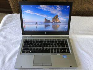 "Nice, clean HP Elitebook 8470P 14.0"" Business class laptop i7-3520M 8GB 128GB SSD W10 Pro Office 2010 Pro for Sale in New Port Richey, FL"