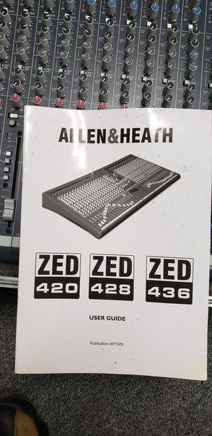 ALLEN&HEATH ZED428 Live Mixer for Sale in West Chicago, IL