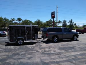 Covered wagon 5 x 8 trailer for Sale in Fort Lauderdale, FL