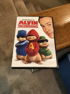 Alvin And The Chipmunks DVD Movie Jason Lee 2007 David cross for Sale in Buena Park, CA