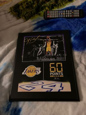 Kobe 60 point game for Sale in West Covina, CA