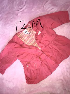 Baby girl jacket size 12m for Sale in Rialto, CA