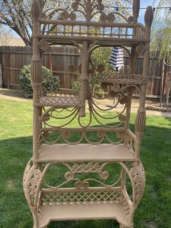 Large Wicker Shelf for Sale in Fresno,  CA