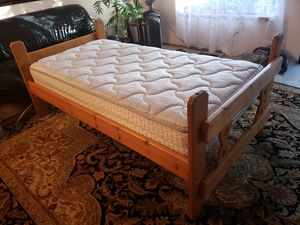 Twin Bed Frame Like New Mattress optional for Sale in Lynnwood, WA