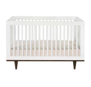 White mid century modern crib for Sale in San Diego, CA