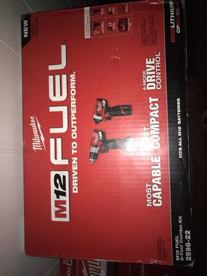 M12 Milwaukee fuel combo kit for Sale in Halethorpe, MD