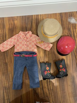American Girl Saige Riding Outfit for Sale in Centreville, VA