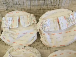 Cloth Diapers G-Baby Diapers 11 Newborn, 5 Size Small with extra inserts. for Sale in Victorville, CA
