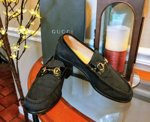 Gucci Horsebit Monogram Loafers (9) for Sale in Imperial, MO