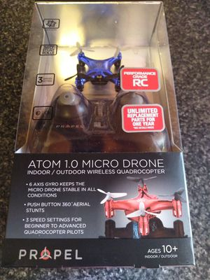Atom 1.0micro drone for Sale in MIDDLEBRG HTS, OH