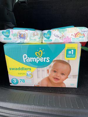 Pampers Bundle ( size3) for Sale in Hampton, VA