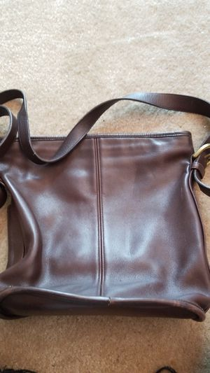 Authentic Coach Leather Handbag Purse for Sale in Tampa, FL